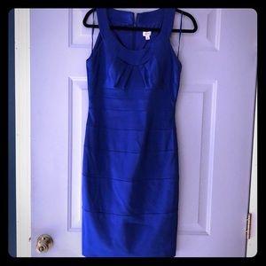 Cache cobalt blue cocktail dress